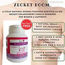 Breast Enlargement Enhancement Firming Acne Pills Natural Herbal Female Hormone.