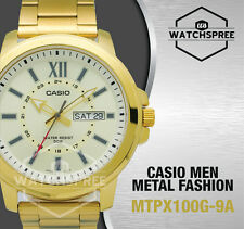 Casio Standard Analog Men's Watch MTPX100G-9A MTP-X100G-9A