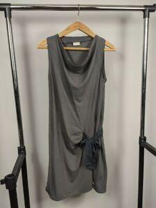 BRUNELLO CUCINELLI Gray Dress Size L