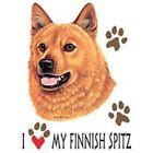 Finnish Spitz Love Tote