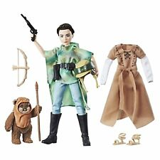 Star Wars Forces du destin Endor Princesse Leia & Ewok Toy Doll Figures