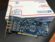 Creative Labs Sound Blaster X-FI 7.1 Channel Model: SB0790