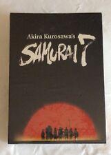 DVD Akira Kurosawa's Samurai 7 Panini Video