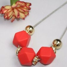 Silicone Necklace red gold fashion  Baby Tapuu jewellery safety cord clasp mum