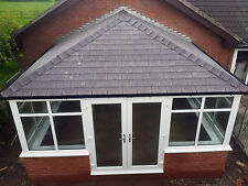 4m x 3m uPVC Edwardian Conservatory with a tiled solid roof Supplied & Fitted