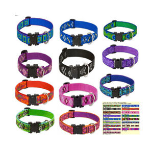 Nylon Collar Lupine 3/4inch Wide Adjustable For Dog Cat Puppy | Pet Strong