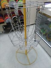 Cross Chain Hive Basket - Portable 12 Chain Disc Golf Basket
