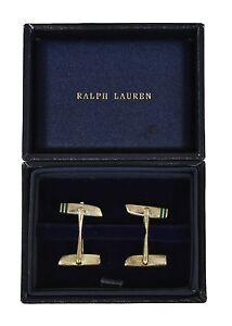 Ralph Lauren Purple Label Sterling Silver 925 Wing Cufflinks New $795