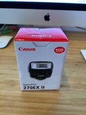 Flash Canon Speedlite 270EX II Neuf