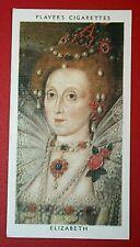 QUEEN ELIZABETH 1   Vintage Portrait Card