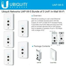 Ubiquiti UAP-IW-5 UniFi Access Point, InWall 5 pack International Version
