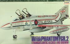 Hasegawa 1:48 British F- 4 Phantom FGR.2 Transatlantic Alcock Brown Kit #CH9