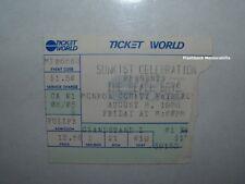 Beach Boys 1986 Concert Ticket Stub Monroe Cnty Fairgrounds Rare Detroit Toledo