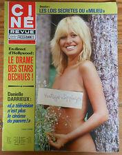 CINE REVUE 44 1978 Isabelle Fleuron Farrah Fawcett Danielle Darrieux Erika Creer