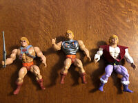 MOTU He-Man, Battle Armor He Man, Prince Adam. 1983 Masters of the Universe