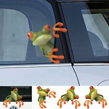Hot 3D Cute Peep frog funny car stickers Truck Window Vinyl Decal Graphics Auto