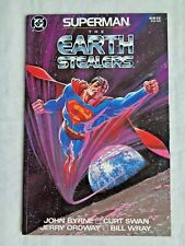Superman: The Earth Stealers 1988 DC Comics TPB Graphic Novel 1st Print NM (9.4)