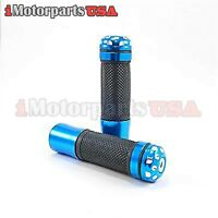 FULL DIAMOND HANDLEBAR HAND GRIPS SET FOR HONDA YAMAHA DIRT BIKE MOTORCROSS NEW