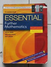 CAMBRIDGE ESSENTIAL FURTHER MATHEMATICS FOURTH EDITION ENHANCED USED PICKUP ONLY