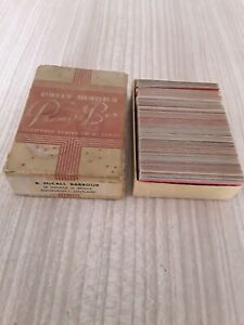 Vintage DAILY MANNA PROMISE BOX  SCRIPTURE VERSUS - CHOICE POEMS B mcCALL BARBOU