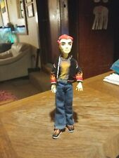 Monster High Heath Burn Doll Home Ick Classroom With Outfit Shoes Jacket