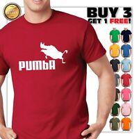 Pumba T-Shirt - Parody Funny Pumbaa & Timon SimbaT Shirt Tee dad Fathers