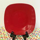 Fiestaware Scarlet Square Salad Plate Fiesta Red 7.5 inch Plate