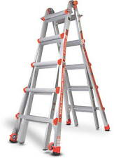 22 1a Little Giant Ladder Classic With Work Platform 10103lgw The Original New