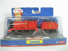 Thomas & Friends Wooden Railway, James, Battery Operated, Fisher Price, NEW