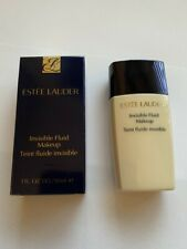 ESTEE LAUDER INVISIBLE FLUID MAKE UP SHADE HAZELNUT  30ML NEW AND BOXED
