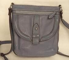 Clarks Blue Leather Satchel Shoulder Bag Handbag