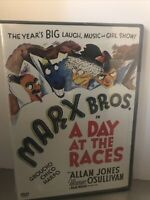 A Day at the Races (DVD, 2004) Marx Bros. Brothers Sam Wood Allan Jones NEW!!!