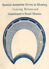Billhead, Frank A. McGrady, Practical Horseshoer, Rosemont, Pennsylvania PA 1906