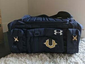 Under Armour Storm Undeniable Cordura Range 53L Duffel Bag Navy Travel Day Rock