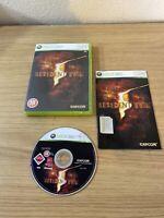 Resident Evil 5 (Microsoft Xbox 360, 2009) - European Version Game