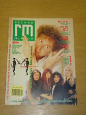 RECORD MIRROR 1989 JULY 1 MALCOLM MCLAREN NORMAN COOK
