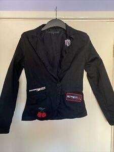 My Chemical Romance Black Jacket Size Medium By Criminal Damage