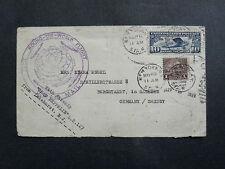 1929 Around The World Flight Of The Graf Zeppelin From Lakehurst NJ.