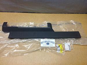 Chevrolet Silverado GMC Sierra RH Passenger Front Door gray Sill Plate new OEM