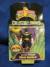 2008 Power Rangers Coleccionable Figura Oro Ranger Precintado