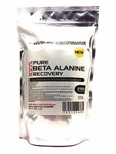 500 SERVINGS 100% BETA ALANINE POWDER 1000g -RECOVER- HPLC PHARMACEUTICAL USP