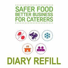 Safer Food Better Business for Caterers SFBB 12 Month Diary Refill Pack COLOUR