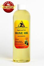 OLIVE OIL REFINED ORGANIC COLD PRESSED by H&B Oils Center FRESH 100% PURE 12 OZ