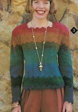 Chevron Top Sweater Women'S Crochet Pattern Instructions