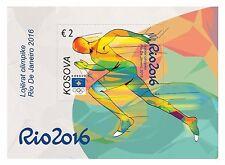 Kosovo Stamps 2016. Olympic games, Sport. Rio de Janeiro. Block MNH.