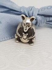 Authentic Pandora Kangaroo Australia Travel Animal Charm -  790534 - Retired