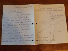 Jolanda Magnoni Soprano 1936 Opera Lirica lettera autografa raro