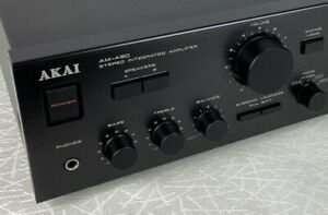 AKAI AM-A90 STEREO INTEGRATED AMPLIFIER 130 WPC SERVICED