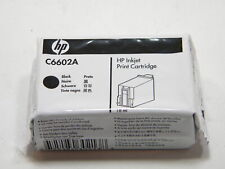 HP C6602A Black Printer Ink Cartridge Genuine Open Box Exp May 2019 6602