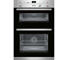 Neff U12S32N3GB Electric Built-in Double Oven - Stainless Steel